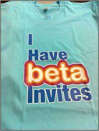 Beta invites